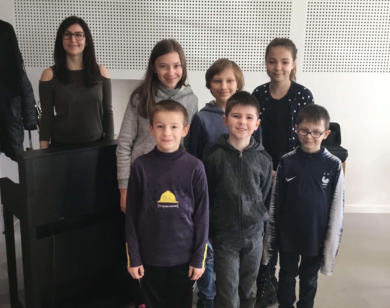 Chorale enfant de l'école de musique de la 2c2r
