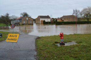 Inondation du village d'Herbéviller (2020)