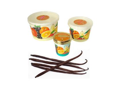 Crème Glacée BIO – Fleur de lait (équivalent vanille) 1L