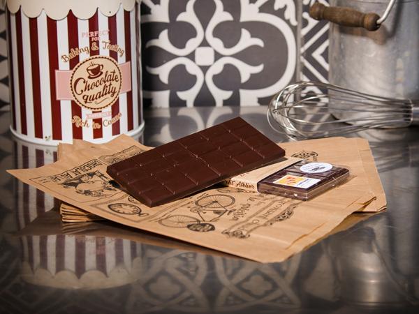 Chocolat Noir 60% BIO –  tablette 100g