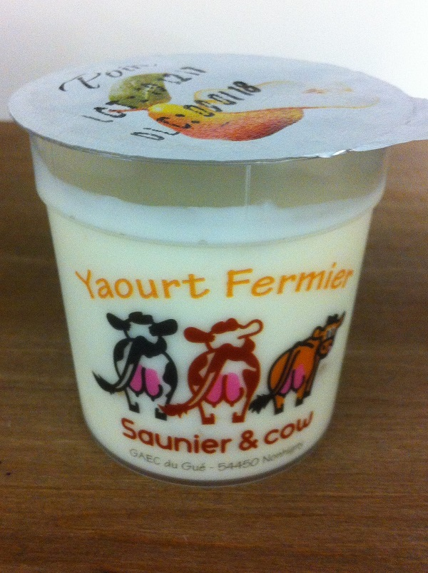 Yaourt Saunier & Cow – Poire