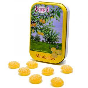 Bonbons Mirabelles – boîte 70g