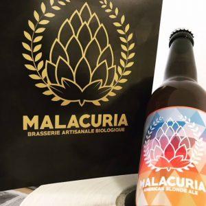 Bière American Blonde Ale – MALACURIA – 33cl