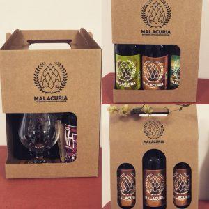 Coffret découverte bières MALACURIA