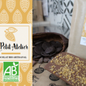Chocolat au Lait et éclats de caramel –  tablette 80g