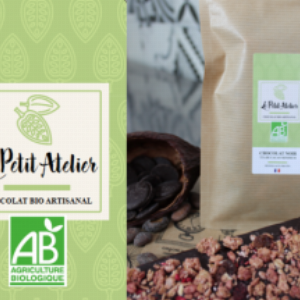 Chocolat noir – muesli aux fruits BIO –  tablette 80g