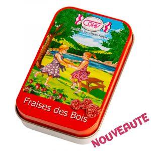 Bonbons Fraise des bois – boîte 70g