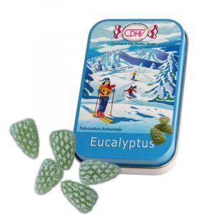 Bonbons Eucalyptus – boîte 70g