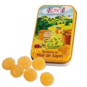 Bonbons au Miel de Sapin – boîte 70g