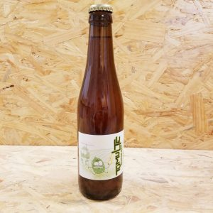 photo d'une bouteille de bière 33cl de marque Tumulte, Tardif P'tit Blanc