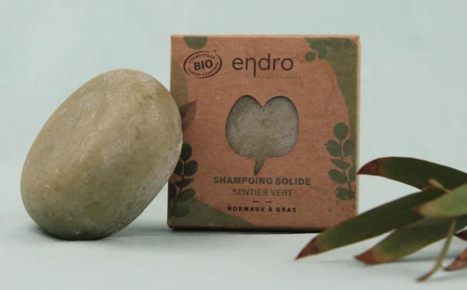 Shampoing solide – Sentier vert ENDRO 85 ml