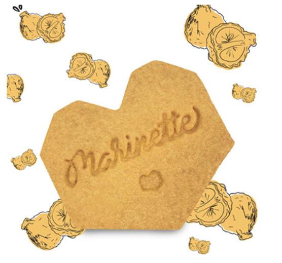 Sachet 10 biscuits intemporels «Bergamote» 150 G