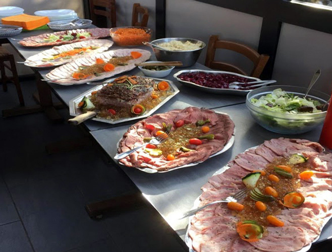 Buffet froid pour groupe